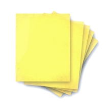 Yellow Premium Wafer Paper 100 pk