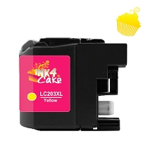 Brother 203XL Edible Cartridge Yellow for BR20