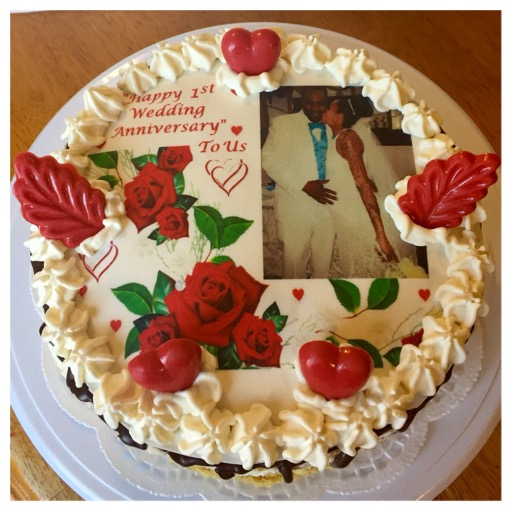 image relating to Edible Printable Paper for Cakes named Customized Edible Prints