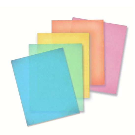 Colored Premium Edible Wafer paper - sample pack