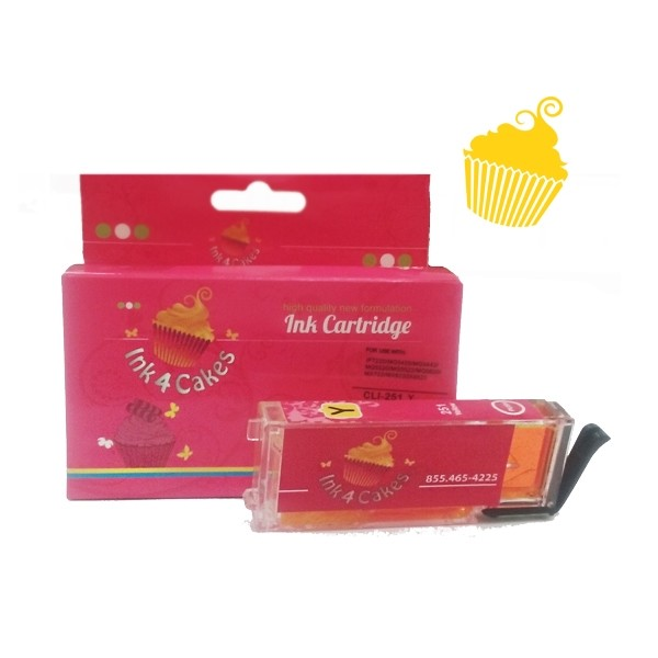 Canon edible ink 251 Yellow XXL