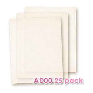 Edible Wafer Paper AD-00 - 25 sheets