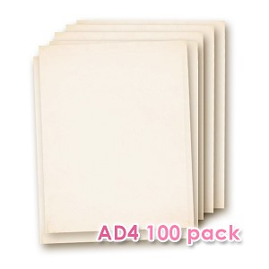Edible Wafer Paper AD4  100 Sheets Pack
