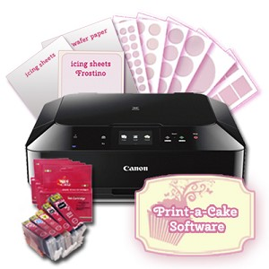 Canon Impresora comestible Galletas & Cupackes- Kit 2