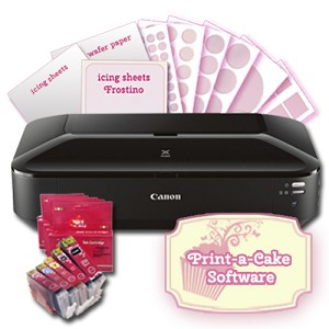 Canon Edible Printer CW8 Cupcake and Cookie Kit 3