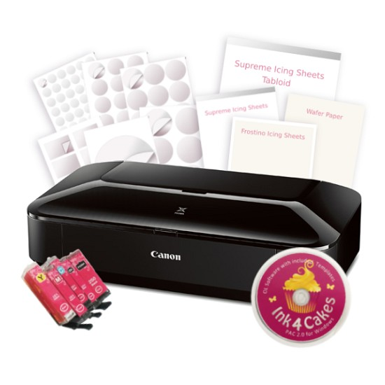 Canon Edible Printer CW8 Cupcake and Cookie Kit