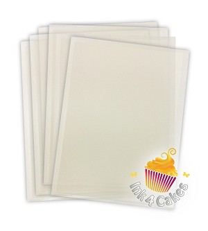 Tiffany FlexFrost Sheets -  Translucent Fabric Icing sheets 20pk