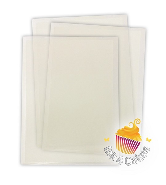 Tiffany FlexFrost Sheets -  Translucent Fabric Icing sheets sample pack