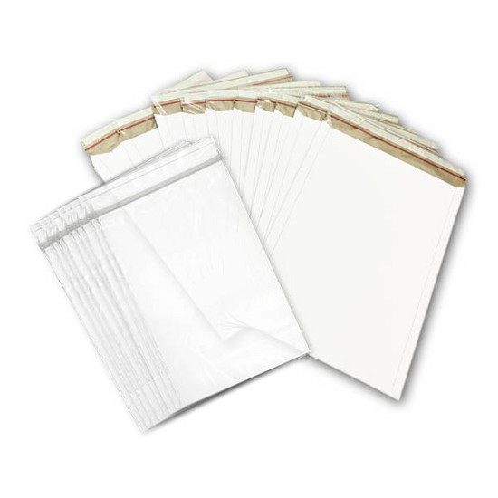 Stay Flat Mailers - 13 x 18 with Resealable bags