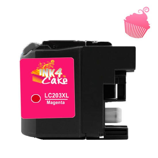 Brother 203XL Edible Cartridge Magenta for BR20