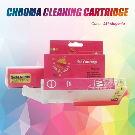 CHROMA Canon Magenta Cleaning Cartridge 251XL