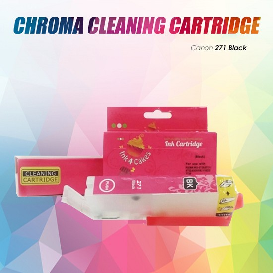 Canon CHROMA cleaning cartridge Black 271K