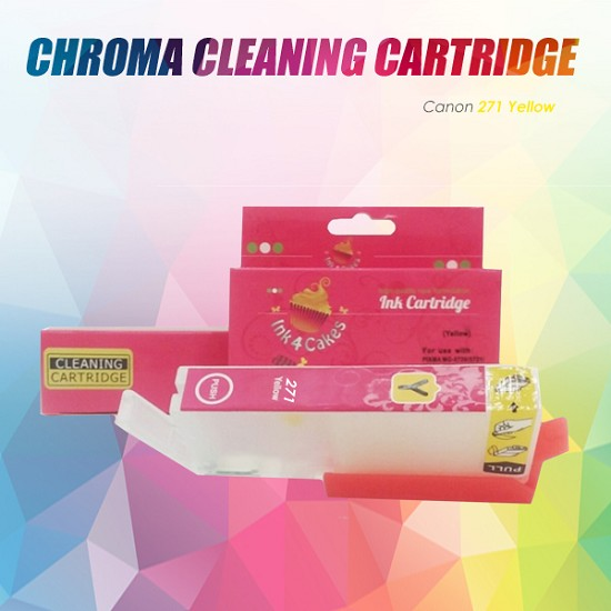 Canon CHROMA cleaning cartridge Yellow 271Y