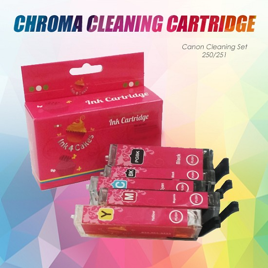 CHROMA Canon Cleaning Set 250/251XL