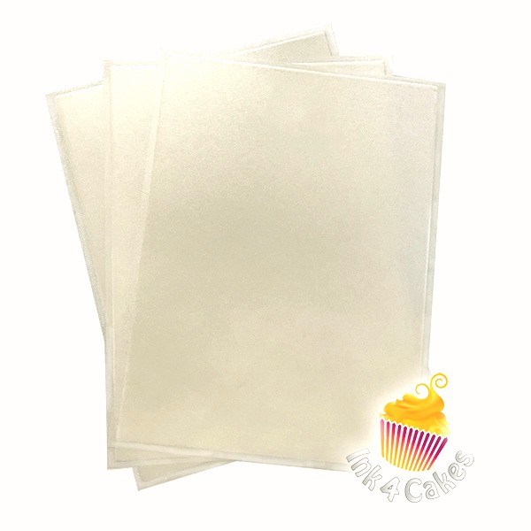 Pearl- Flex Frost Metallic Icing Sheets 3 pack