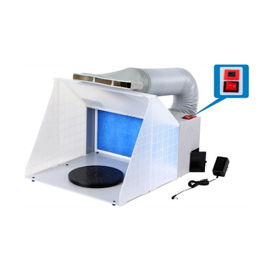 Spray Booth with LED light