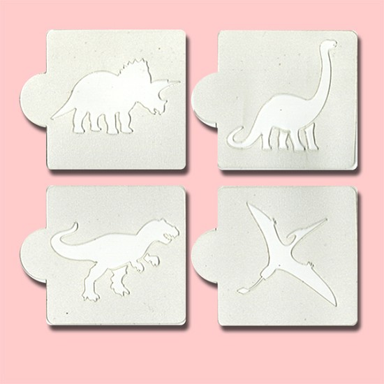 Dinosaurs - Bakery Decorating Stencils - 2.6
