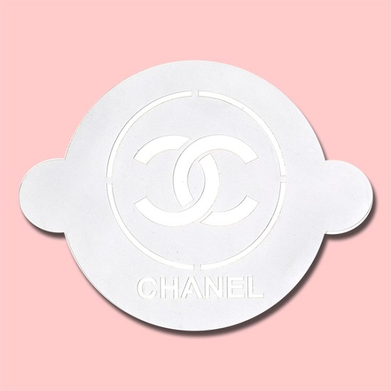 Chanel - Bakery Decorating Stencil - Circle 11