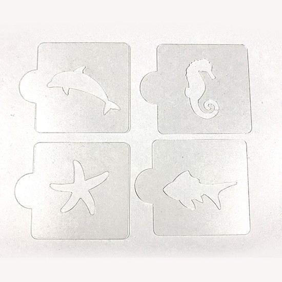 Sea Animals - Bakery Decorating Stencils - 2.6