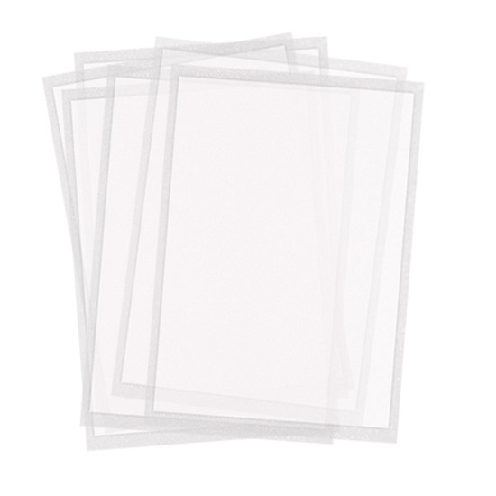 Twiggy Sheets - pack of 24 sheets - Letter size Thinnest icing sheets
