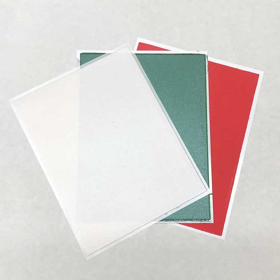Christmas Holiday Pack Flex Frost - Fabric Icing sheet - 3 pack